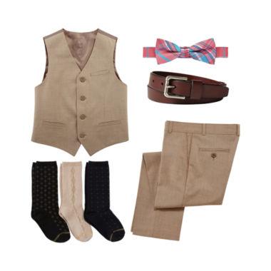 jcpenney.com | IZOD® Vest, Pant, Belt, Bow Tie or Gold Toe® Socks - Boys 8-20