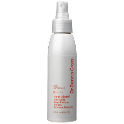 Dr. Dennis Gross Skincare Sheer Mineral Sun Spray SPF 50