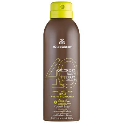 MDSolarSciences Quick Dry Body Spray With Solsci-X SPF40 UVA-UVB Sunscreen