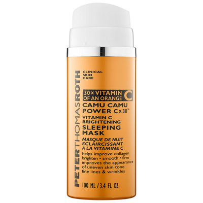Peter Thomas Roth Camu Camu Power C X 30 Vitamin C Brightening Sleeping Mask