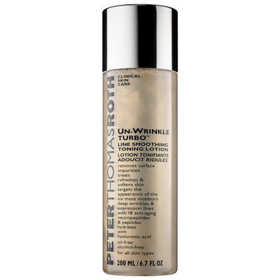 Peter Thomas Roth Un-Wrinkle Turbo 24K Gold Line Smoothing Toning Lotion