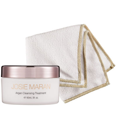Josie Maran Argan Cleansing Treatment + Cloth