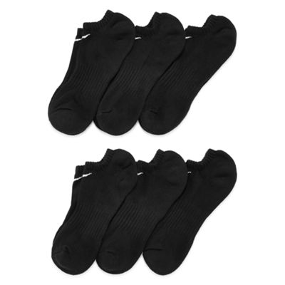 Nike® 6-pk. Performance Cotton No-Show Socks