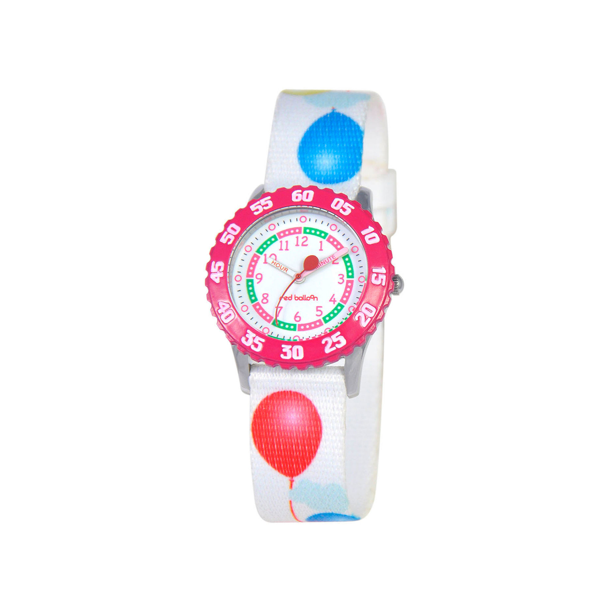 Red Balloon™ Girls' White Balloon Strap Watch