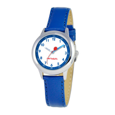 Red Balloon™ Boys' Blue Leather Strap Watch