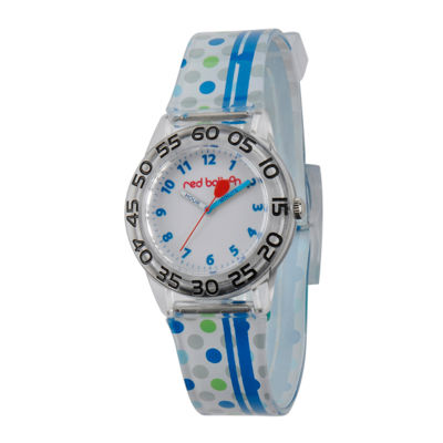 Red Balloon™ Boys Blue Stripe Bracelet Watch