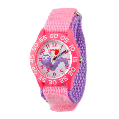Red Balloon™ Girls Pink Caterpillar Bracelet Watch