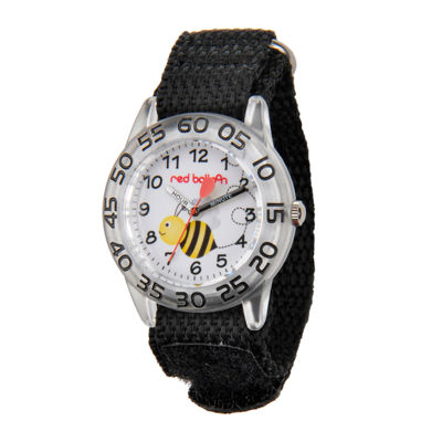 Red Balloon™ Boys Black Bee Strap Watch