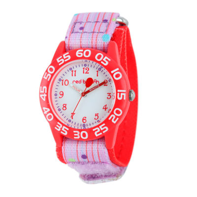 Red Balloon™ Girls Pink and Red Strap Watch