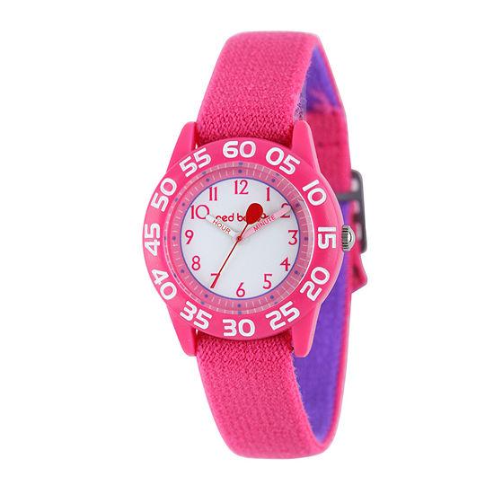 Red Balloon™ Kids Pink Nylon Strap Watch