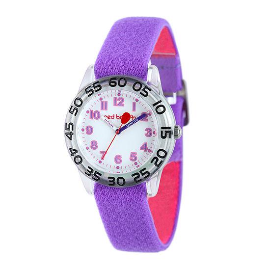 Red Balloon™ Kids Purple Nylon Strap Watch