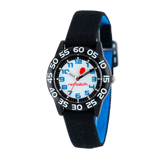 Red Balloon™ Kids Black Nylon Strap Watch