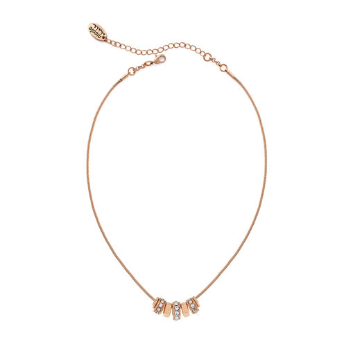nicole by Nicole Miller® Crystal Rose Gold-Tone Necklace
