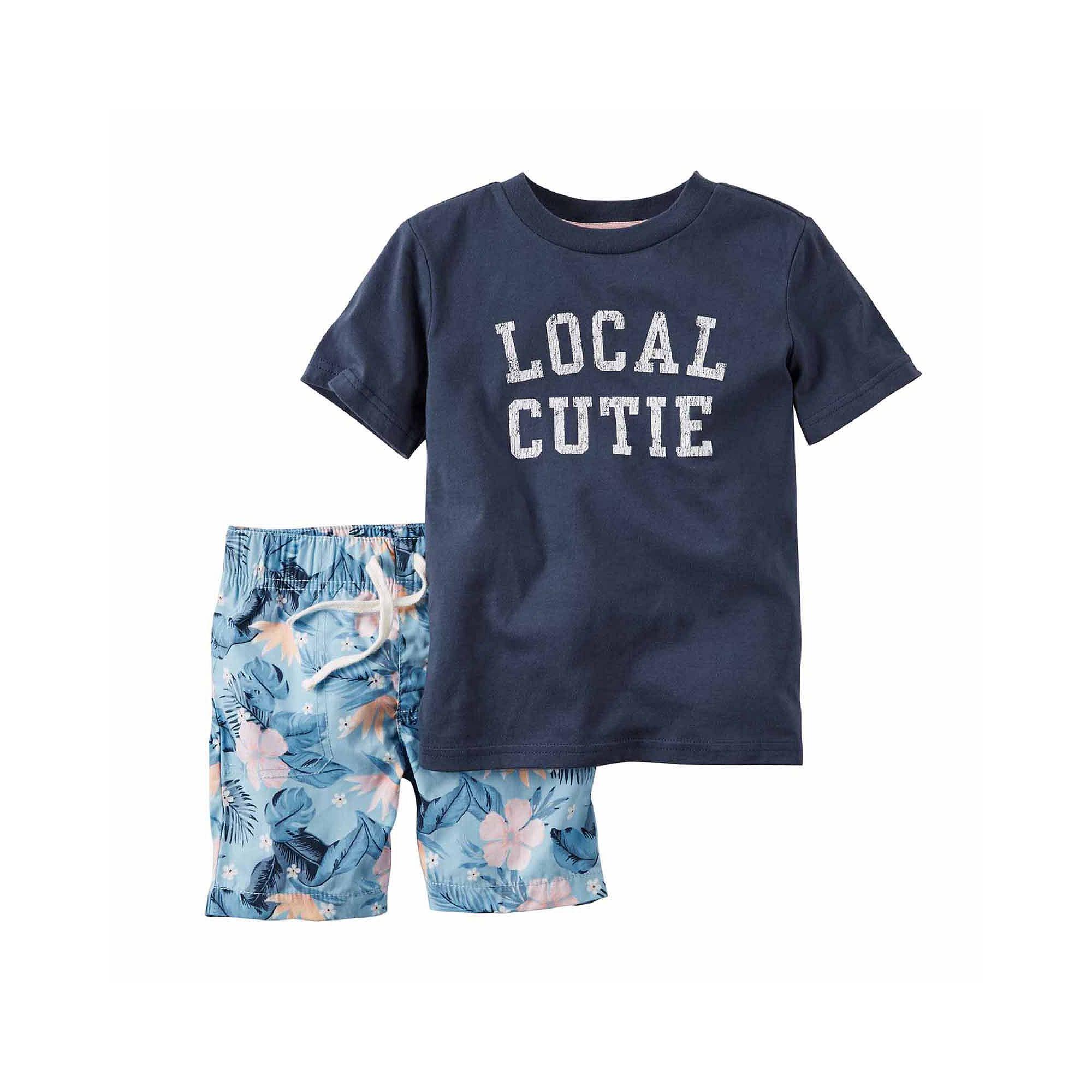 Carters Baby Boys 2 Pc Playwear Sets 229g136