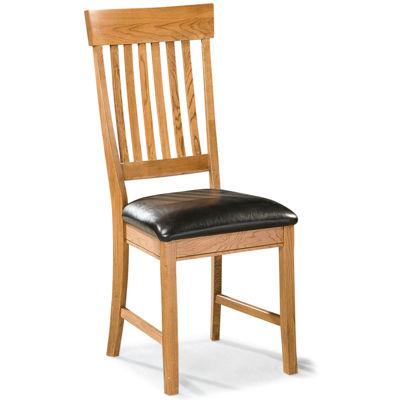 Breeland Set of 2 Slat-Back Dining Chairs