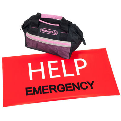 Stalwart™ 55-pc. Emergency Roadside Kit with Travel Bag