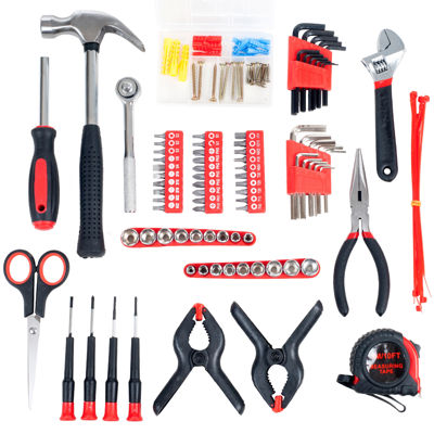 Stalwart 86-pc. Home, Car and Office Tool Kit