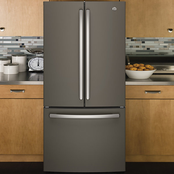 GE® Series ENERGY STAR® 24.8 cu. ft. French-Door Refrigerator