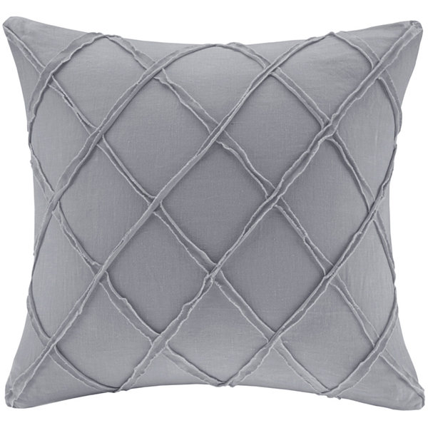 "Harbor House Linen 18"" Square Decorative Pillow"