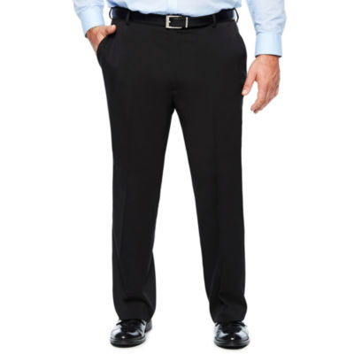 Men's Van Heusen Traveler Stretch Flat-Front Straight-Leg Dress Pants-Big and Tall