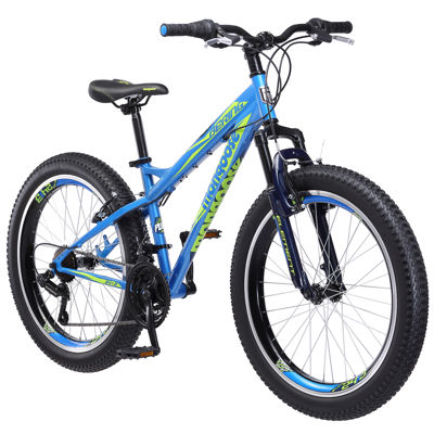 "Mongoose Bering 24"" Boys Fat Tire Bike"