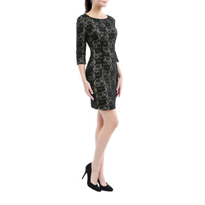 Phistic Tess Elbow Sleeve Sheath Dress