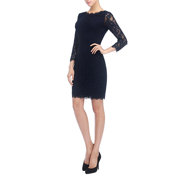 Phistic Rachael 3/4 Sleeve Sheath Dress