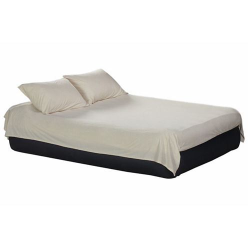 Airbed Essentials 4 Piece Terry Airbed Twin SheetSet - White