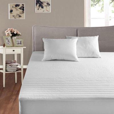 Cotton Basics Just Cotton Cotton-Filled Mattress Pad