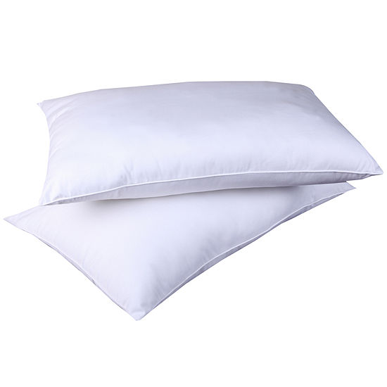 Cottonloft All Natural 100% Cotton Filled Bed Pillow 2 Pack