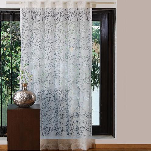 Textrade Sweet Flower Tab-Top Curtain Panel