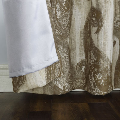 Sun Zero Presley Blackout Grommet-Top Curtain Panel