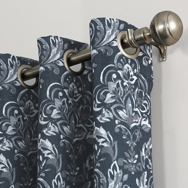Sun Zero Stanford Room-Darkening Grommet-Top Curtain Panel