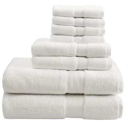 Madison Park Signature 800GSM 8pc Bath Towel Set JCPenney