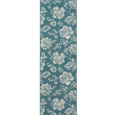 Momeni Baja Floral Rectangle Runners