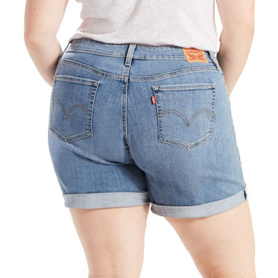 "Levi's 7"" Denim Shorts-Plus"