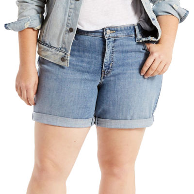 "Levi's 7"" Denim Shorts-Plus"
