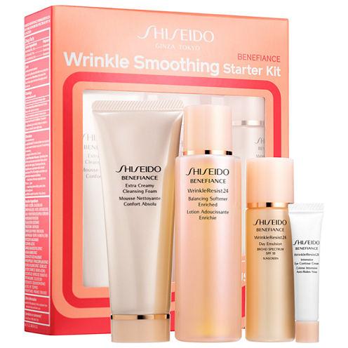 Shiseido Benefiance Wrinkle Smoothing Starter Kit