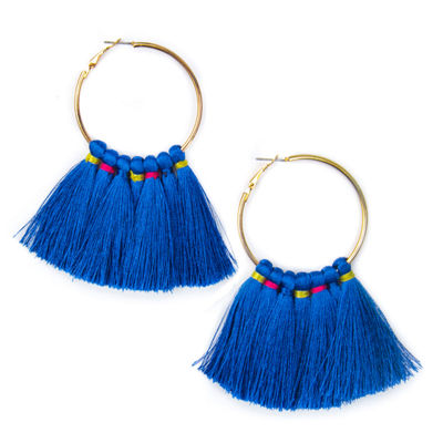 Bijoux Bar 79.9mm Hoop Earrings