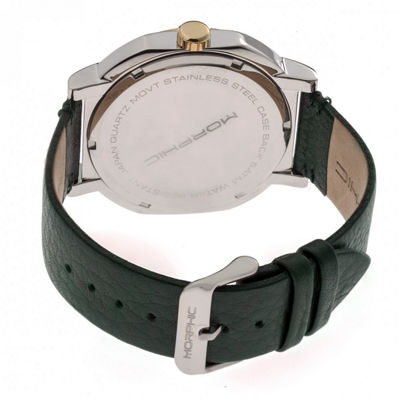 Morphic Unisex Green Strap Watch-Mph6205
