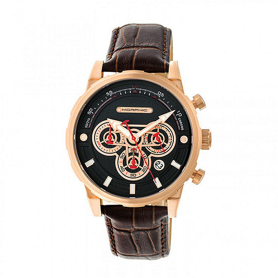 Morphic Unisex Brown Bracelet Watch-Mph6004