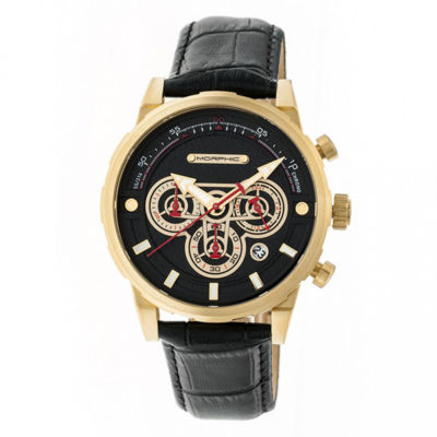 Morphic Unisex Black Strap Watch-Mph6003