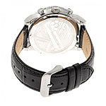 Morphic Unisex Adult Black Leather Bracelet Watch-Mph6001
