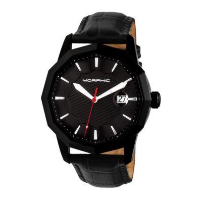 Morphic Unisex Black Bracelet Watch-Mph5606
