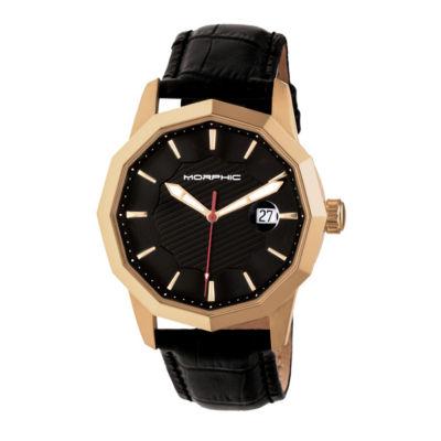 Morphic Unisex Black Bracelet Watch-Mph5604