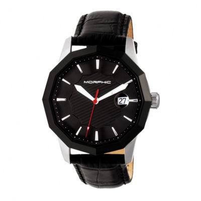 Morphic Unisex Black Bracelet Watch-Mph5601