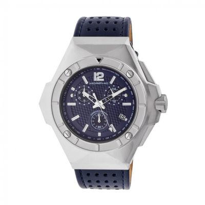 Morphic Unisex Blue Strap Watch-Mph5503