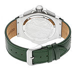 Morphic Unisex Adult Green Leather Bracelet Watch-Mph5502
