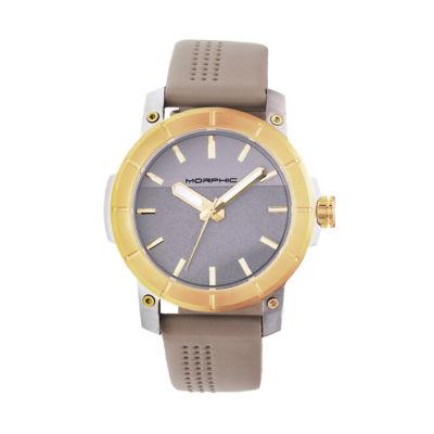 Morphic Unisex Brown Bracelet Watch-Mph5403