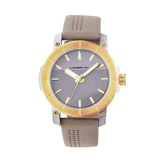 Morphic Unisex Adult Brown Bracelet Watch - Mph5403